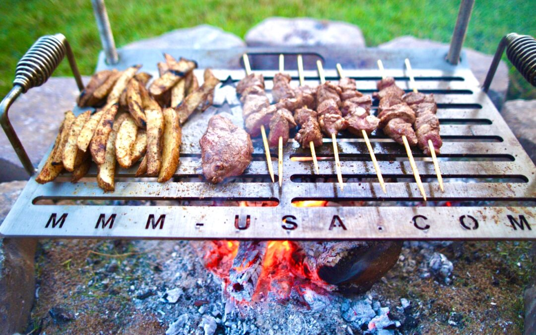 Made in America Camping Grill | It's Time to Impress