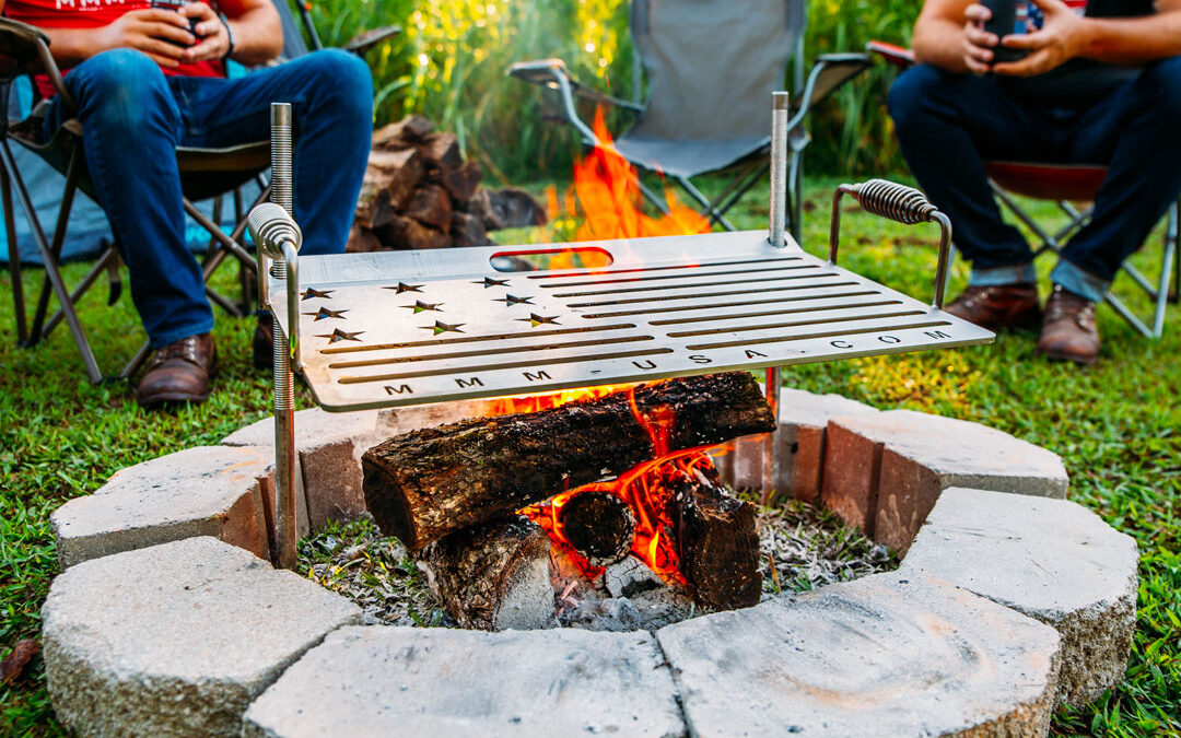Best Made In America Camping Grill | These Are Absolutely Amazing