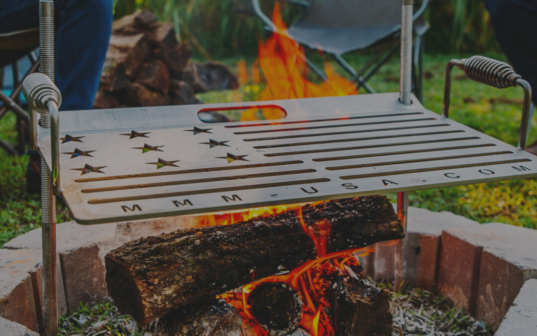 Made In America Camping Grill | Taste The Freedom Of This Grill
