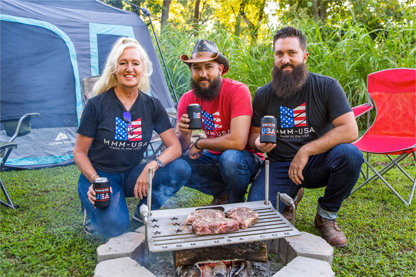 Made in America Camping Grill | Our Team Produces Good Grills